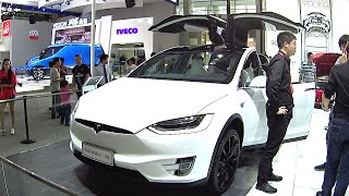 2016, 2017 Tesla Model X  Beijing Auto Show in China, Tesla Model X 2016, 2017