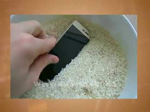 Как просушить телефон от воды в домашних условиях