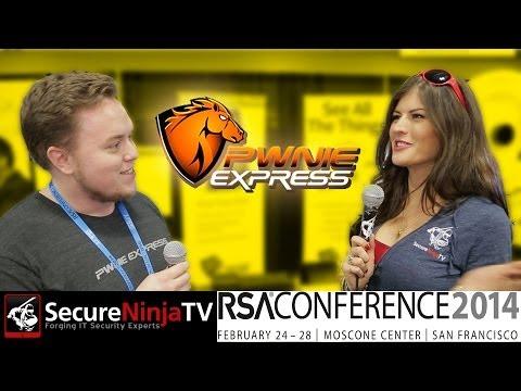 SecureNinjaTV RSA 2014 Pwnie Express