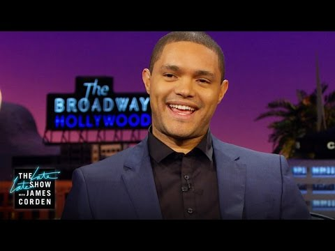 Trevor Noah Talks Getting The Daily Show