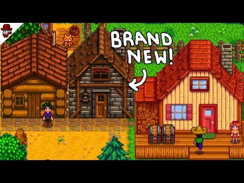 Stardew Valley 1 3 - New Cabins in Multiplayer!! - YouTube