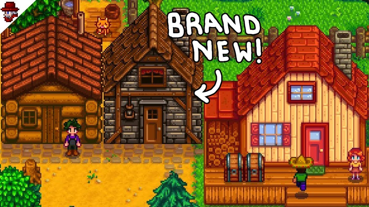 Stardew Valley 1 3 - New Cabins in Multiplayer!!