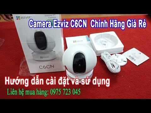 Camera IP Wifi Ezviz C6CN - Hướng Dẫn Cài Đặt Và Sử Dụng - Business Computer