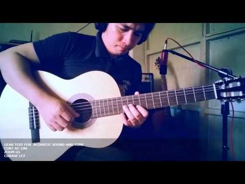Mana Gear Test : Cort AC100, Ipagpatawad Mo Instrumental