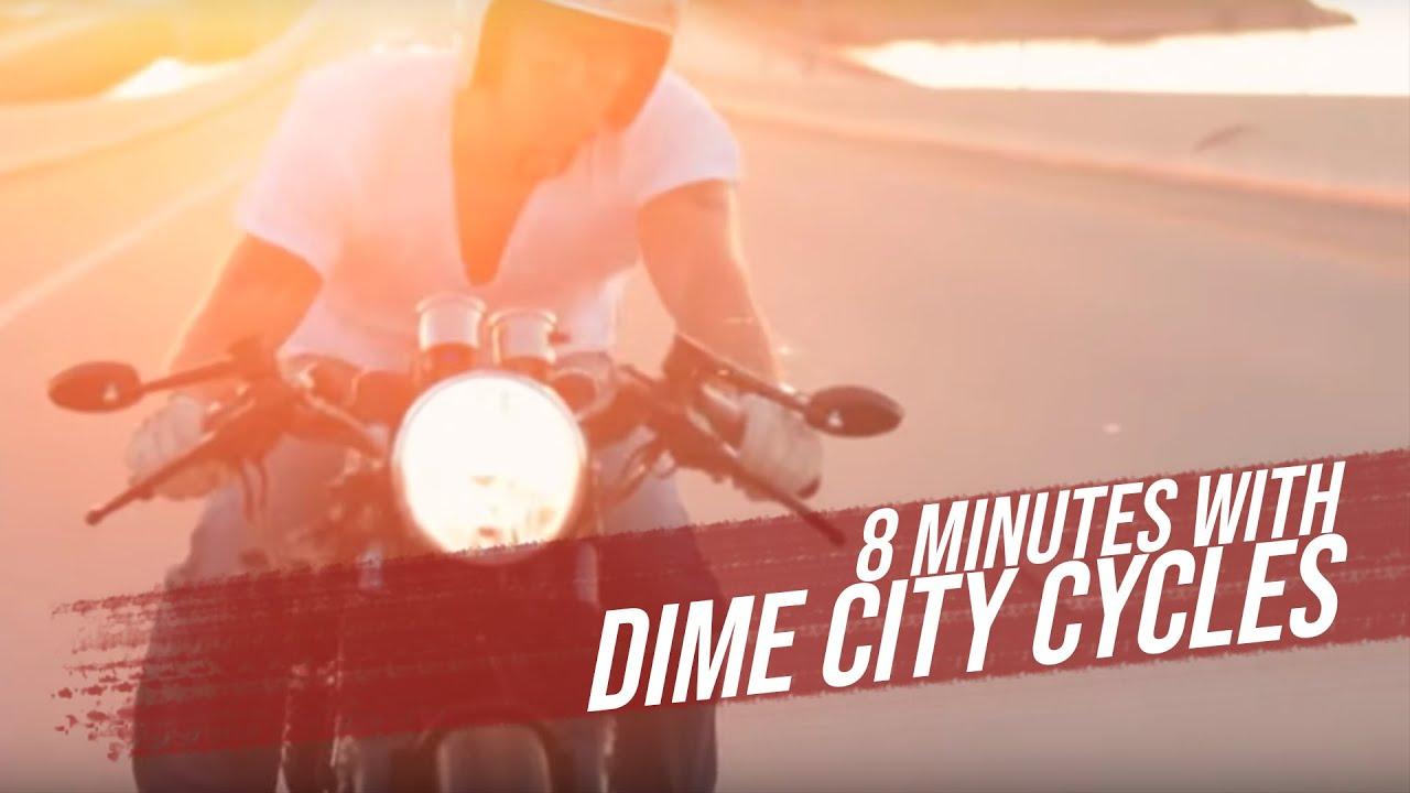 画像: 8 Minutes with Dime City Cycles - A look behind the scenes of The Wing'd Piston youtu.be
