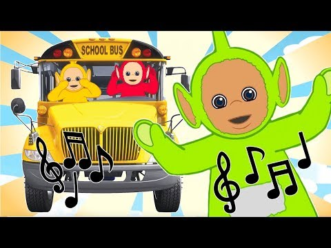 Wheels On The Bus | Teletubbies Compilation | Learn Nursery Rhymes for Kids | Cartoons for Kids