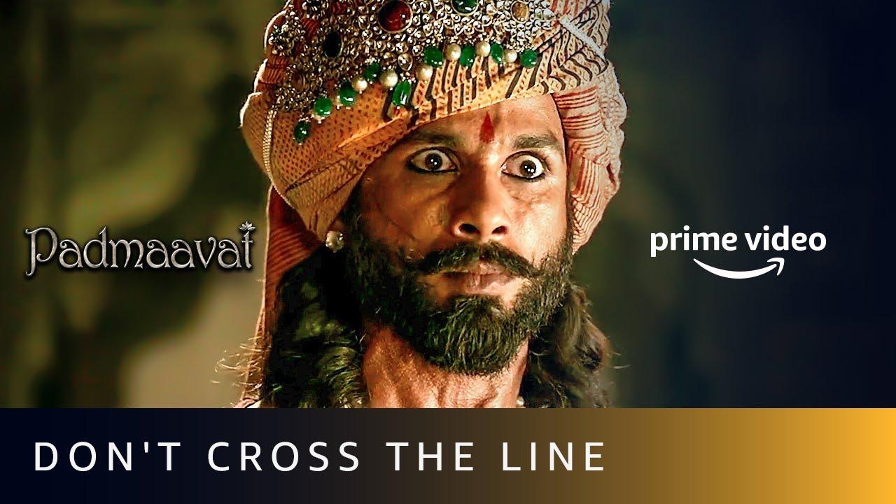 Download Padmaavat - Don't Cross The Line |Deepika Padukone, Ranveer Singh, Shahid Kapoor |Amazon Prime Video
