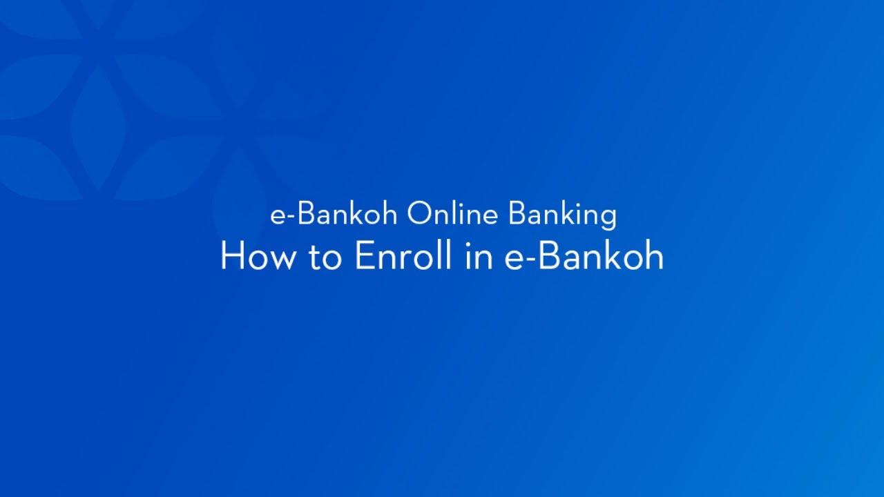 e-bankoh online banking