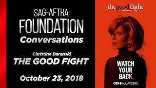 Conversations with Christine Baranski of THE GOOD FIGHT