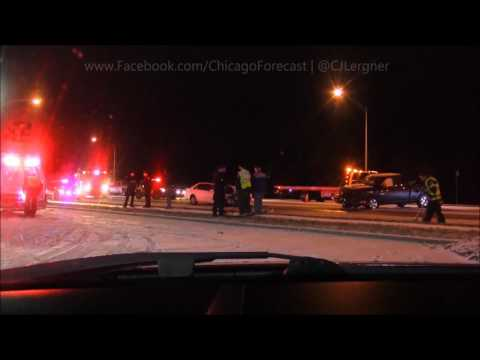1-9-17 Chicago, IL, Black Ice, And Heavy Snowfall, Bad Accidents, Medical