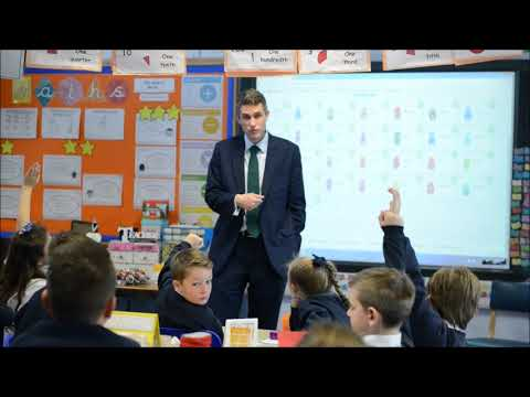MP Gavin Williamson's visit to St. Bernadette's Primary, Wombourne