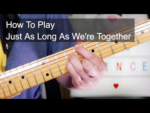 'Just As Long As We're Together' Prince Guitar & Bass Lesson