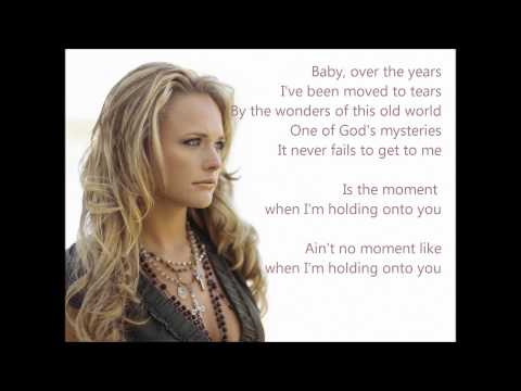 Holding on to You [Miranda Lambert] EasyREAD Lyrics