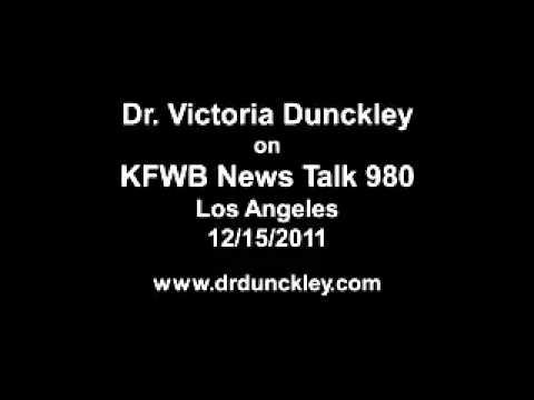 Dr. Victoria Dunckley on KFWB News Talk 980 Los Angeles