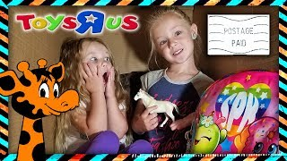 Video I Mailed Myself in a Box to Toys R Us with Little Sister Madison! IT WORKED!!! What's in My Backpack download MP3, 3GP, MP4, WEBM, AVI, FLV April 2018