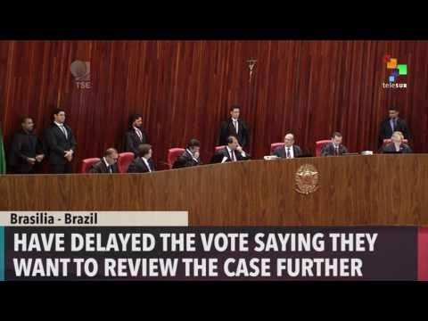 Debate on Brazilian President Temer's Fate Continues