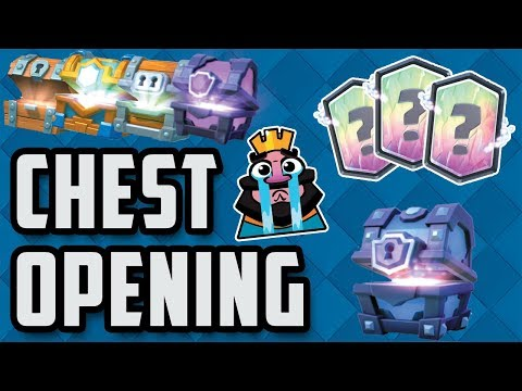 MASSIVE CHEST OPENING | Clash Royale