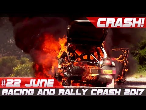 Week 22 June 2017 Racing and Rally Crash Compilation