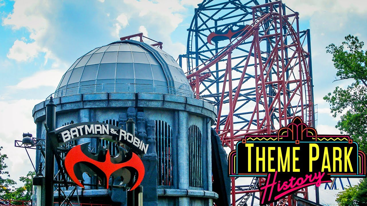 The Theme Park History of Batman & Robin: The Chiller feat. New Jersey Coasters (SFGA)