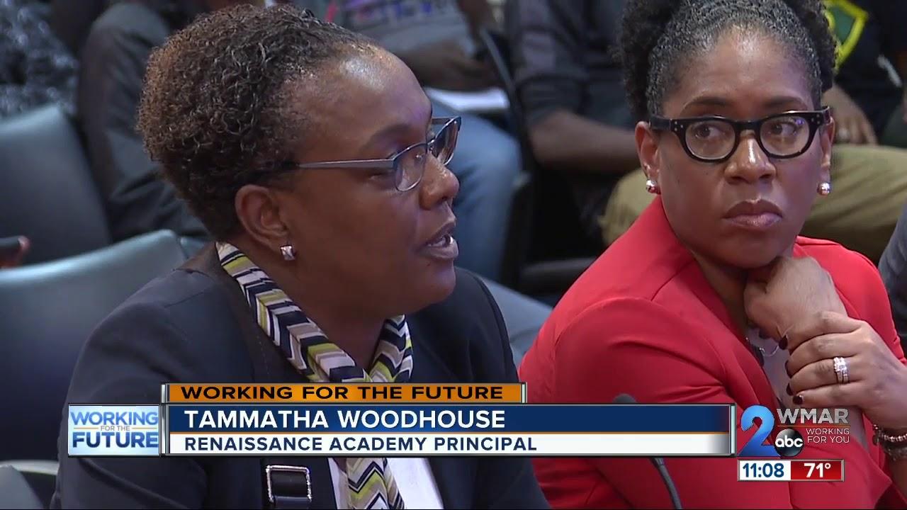 Heated debate over armed Baltimore City School Officers