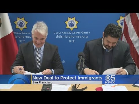 San Francisco Signs Immigration Memo With Mexican Consul General
