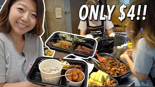 CHEAP Korean Street Food LUNCH ? Tongin Market Food Tour in Seoul, South Korea