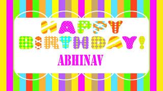 Abhinav Wishes & Mensajes - Happy Birthday
