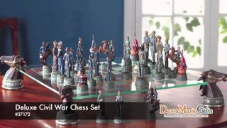 Deluxe Civil War Chess Set - 37172