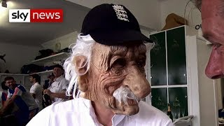 Bob Willis tribute: Joe Root impersonates the Headingley hero