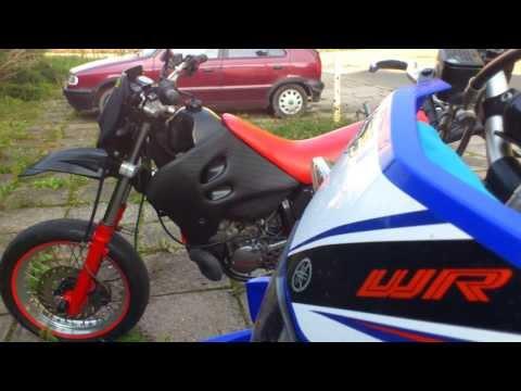 Yamaha WR 125R and Sachs ZZ 125