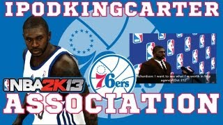 NBA 2K13 Association: Philadelphia 76ers - Ep. 5 | Richardson