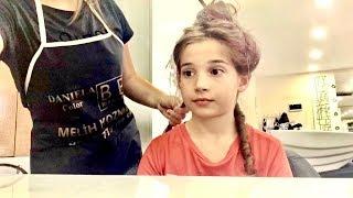 Saçlarımı Kestiriyorum Kuaför Vlog. Benimle Hazırlan. Ecrin Su Çoban