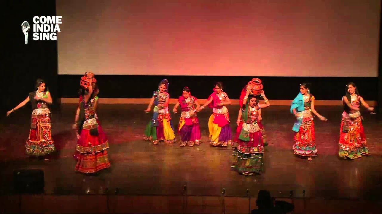 Children's day eve Dance Performance: Rajasthani Folk Dance by students  of Rotary Public School - YouTube