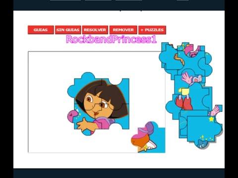 Jigsaw Puzzles Of Dora The Explorer