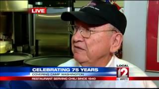 Adam Clements Helps Camp Washington Chili Kick Off 75th Anniversary