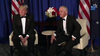 President Trump Meets with Prime Minister Malcolm Turnbull of Australia