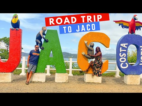 ROAD TRIP TO JACO    FINDING AMAZING FOOD IN COSTA RICA (trusted housesitters)