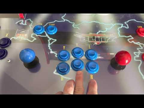 NFL Blitz Arcade (NBA JAM Arcade 1Up Modded) from Samuel Weirich