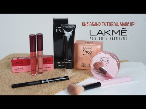 ONE BRAND TUTORIAL MAKEUP LAKME - YouTube