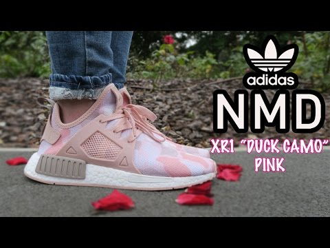 ADIDAS NMD XR1 DUCK CAMO -PINK - YouTube