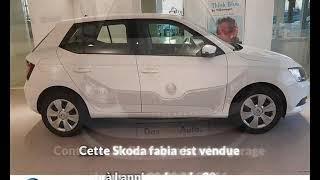 Skoda fabia occasion visible à Lannion présentée par Volkswagen lannion garage beyou