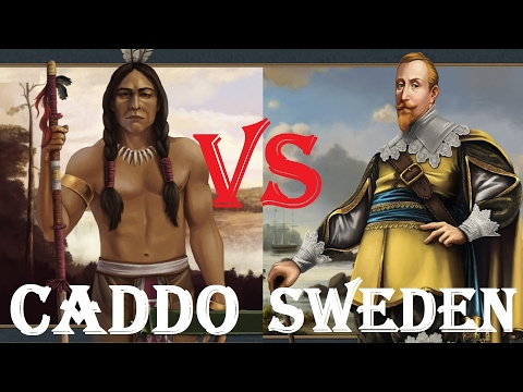 [EU4] Caddo vs Sweden. Epic Blob Battles EP #3