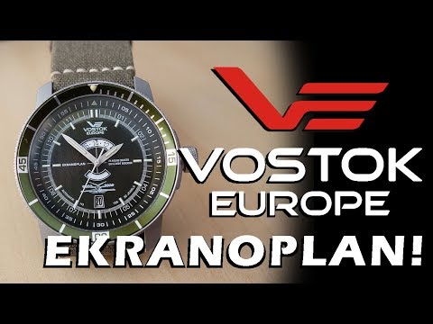 Caspian Sea Monster! Vostok Europe Ekranoplan Automatic Watch Review (5455107)- Perth WAtch #77