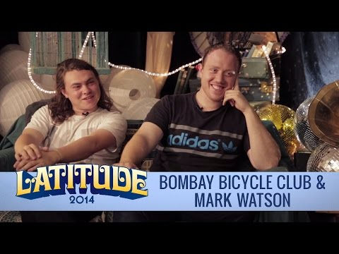 Mark Watson is late...to interview Bombay Bicycle Club | Latitude Festival 2014