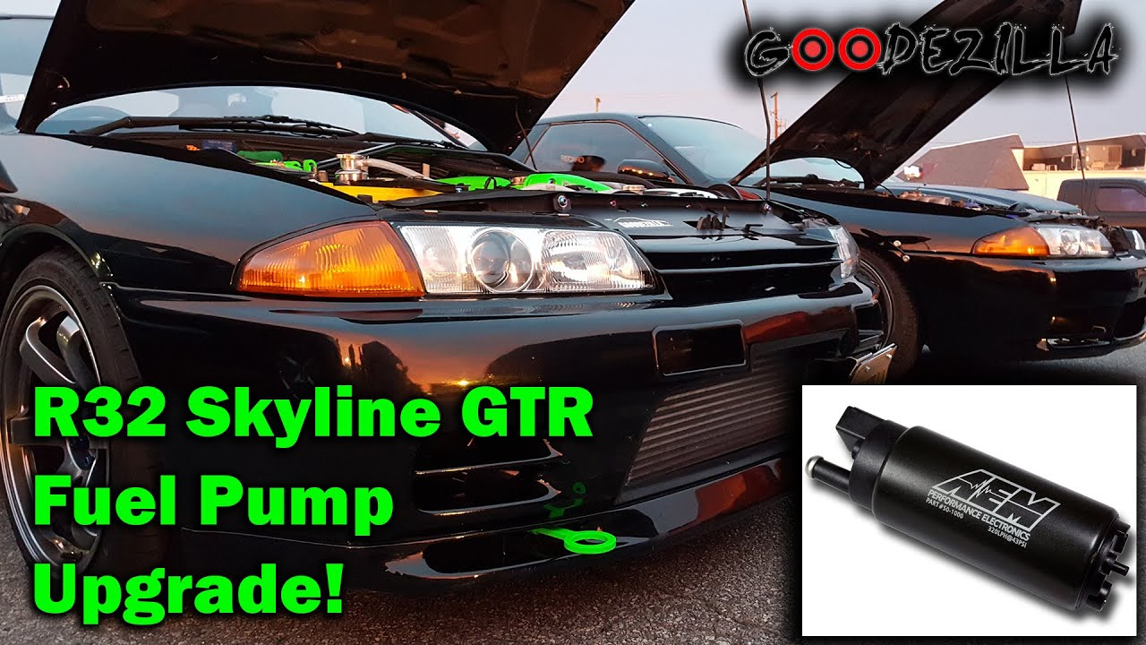 How To Upgrade the Fuel Pump in a R32 Skyline GTR YouTube