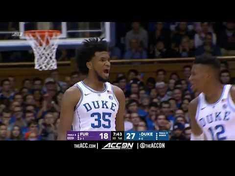 Furman vs Duke College Basketball Condensed Game 2017