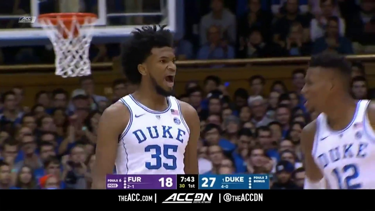 3fe5ee45c128 Furman vs Duke College Basketball Condensed Game 2017 - YouTube