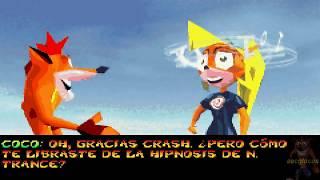 Crash Bandicoot 2: N-Tranced 101% Mundo 2 - Cristales y Gemas