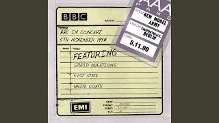 Smalltown England (BBC In Concert 5th Nov 1990)