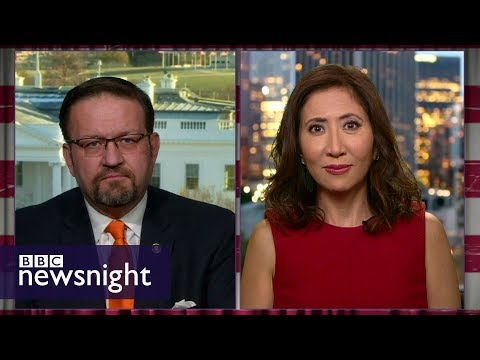 Sebastian Gorka and Janice Min talk 'Fire and Fury' – BBC Newsnight